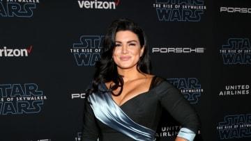 Gina Carano at a Star Wars premiere.