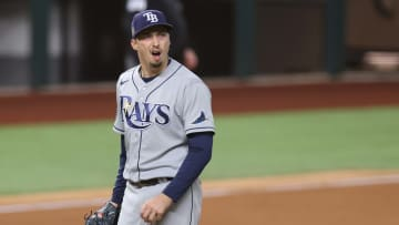 Blake Snell, World Series - Tampa Bay Rays v Los Angeles Dodgers  - Game Six