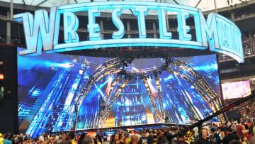 The logo of WrestleMania XXVII