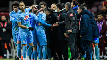 Çaykur Rizespor'un gol sevinci