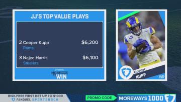 JJ Zachariason's Week Two DFS Values - More Ways To Win