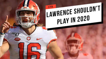 Lawrence Shouldn't Play in 2020