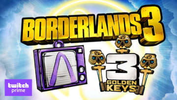 Borderlands 3 Twitch Prime content is here