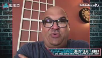 Chris 'Bear' Fallica On College Football Betting - The Pat McAfee Show