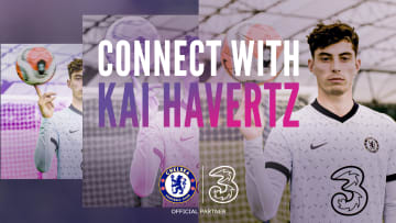 Master meets master. Street footballer Jack Downer connects with Chelsea's Kai Havertz as they look to perfect their skills.