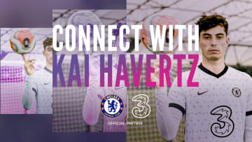 Master meets master ?  Street footballer Jack Downer connects with Chelsea FC's Kai Havertz as they look to perfect their skills. #ConnectWith