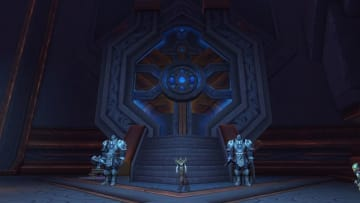 The Great Vault located in Oribos, where you get all of your weekly rewards including Attendants Tokens of Merit