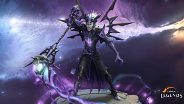 The Necromancer's design incorporates Gothic architecture for a distinctive look.