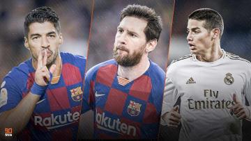 Suarez, Messi et James font l'actu mercato