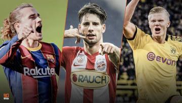 Antoine Griezmann, Erling Haaland et Dominik Szoboszlai seront des joueurs décisifs en 2021.