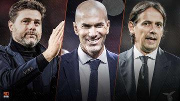 Pochettino, Zidane, Inzaghi sont pressentis pour prendre la succession de Sarri