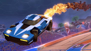 """The Golden Cosmos Boost is one of a number of """"Legacy"""" bonuses being provided to current Rocket League players."""