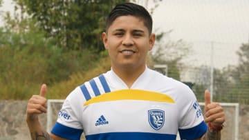 El jugador mexicano Javier 'Chofis' López.