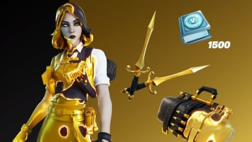 Fortnite v15.50 has officially hit live servers, including some now-leaked skins and cosmetic items.