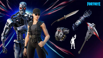 Everything you need to know about The Terminator and Sarah Connor's Skin in Fortnite.