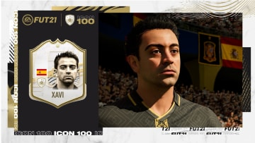 Xavi is a playable icon in FIFA 21