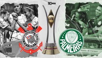 Conquista do Campeonato Brasileiro Feminino de 2021 tem tom diferente para Palmeiras e Corinthians. Entenda.