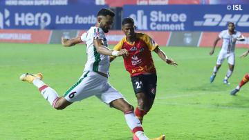 Manvir Singh scored ATKMB's second goal