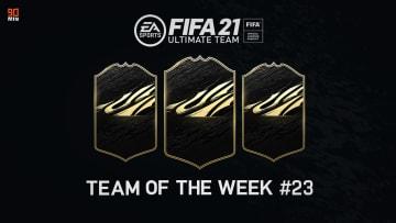 Il TOTW 23 di FIFA 21 Ultimate Team