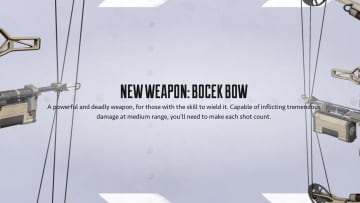 The Bocek Bow is slated for the Apex Legends Season 9 release.