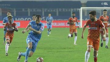 Adam le Fondre scored from the spot to seal Mumbai City's win against FC Goa