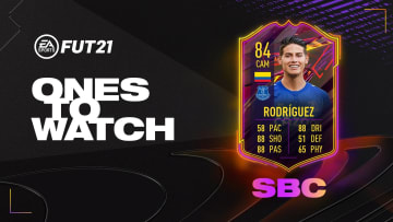 Complete the Squad Building Challenge to get James Rodriguez in FIFA 21.