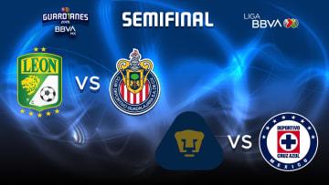 Equipos semifinalistas del Torneo Guard1anes 2020.