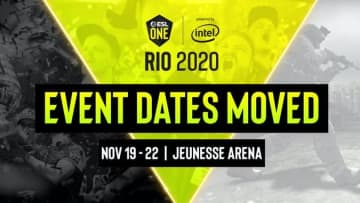 The ESL Rio 2020 Major was cancelled, Valve announced Sept. 9.