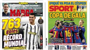 Luis Suárez supera a Cristiano Ronaldo como goleador en los primeros 17 partidos con un club 1
