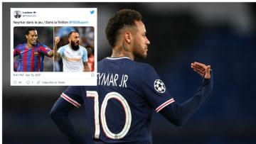 Neymar a fait chavirer Twitter.