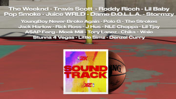 2K Games has released a Spotify playlist featuring 48 of the 52 confirmed songs in NBA 2K21 at launch.
