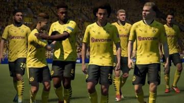 Borussia chega forte no FIFA 22