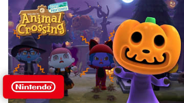 Animal Crossing: New Horizons' Fall Update leans into the spooky.