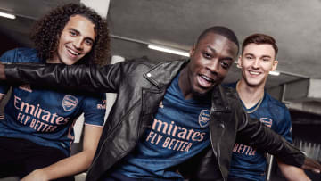Arsenal have unveiled their new third kit