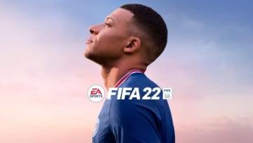 Mbappé é capa do FIFA 22