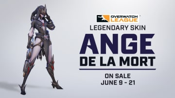 As part of the many cosmetics Overwatch League has released during the June Joust tournament, Widowmaker has yet another new skin. | Photo by Blizzard