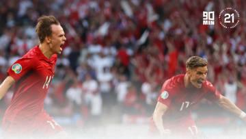 Damsgaard starred at Euro 2020