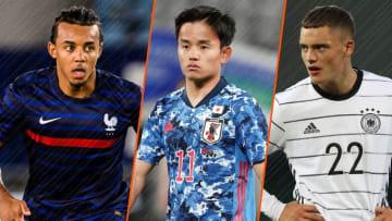 Jules Koundé, Takefusa Kubo et Florian Wirtz seront parmi les têtes d'affiche de ces JO 2020.