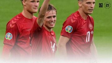 Mikkel Damsgaard shone at Euro 2020