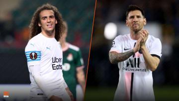 Mattéo Guendouzi et Lionel Messi repartent frustrés.