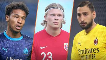 Bouba Kamara a la cote en Italie, Haaland est la priorité de Chelsea et Donnarumma va s'engager avec le PSG.