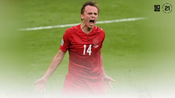 Mikkel Damsgaard has been electrifying for Denmark