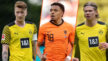 Donyell Malen est venu renforcer les rangs du Borussia Dortmund.