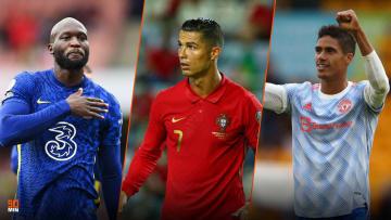 Romelu Lukaku, CR7 et Varane sont les stars du mercato anglais.