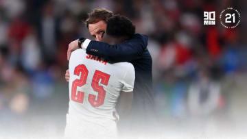 Saka was brilliant throughout Euro 2020