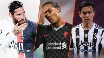 Sergio Ramos, Virgil van Dijk et Paulo Dybala vont voir leur note baisser sur FIFA 22.