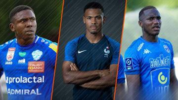 Jodel Dossou de Clermont, Kelvin Amian de Toulouse et Guy-Marcelin Kilama de Niort.