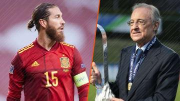 Sergio Ramos et Florentino Perez ne voit certainement pas d'un même œil la création d'une Super League.