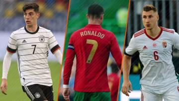 Kai Havertz, Cristiano Ronaldo et Willi Orban seront à surveiller par l'Équipe de France.