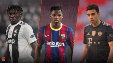 Moise Kean, Ansu Fati et Musiala parmi les pépites à suivre cette saison en Champions League.